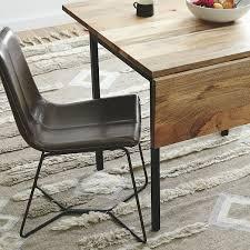 west elm expandable table box frame drop leaf expandable table west elm with regard to chairs