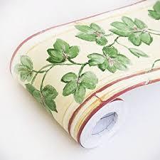 spring vines self adhesive wallpaper borders home decor roll