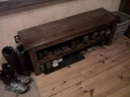 Build A Shoe Storage Bench by Ana White Entry Shoe Bench Diy Projects