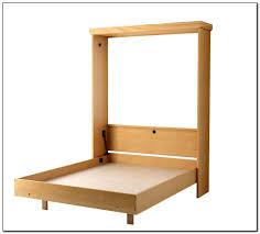 wall bed ikea murphy bed feminine work space present white twin