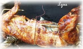 cuisiner lapin entier lapin sur tourne broche bbq