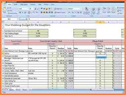 Wedding Planning Websites 7 Wedding Venue Spreadsheet Costs Spreadsheet