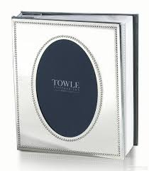 Engraved Photo Album Towle Silversmiths Beaded Antique Album For Your 4x6 Prints