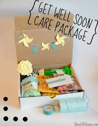 get better soon care package these a don t go while getting better