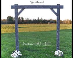 wedding arches rustic wedding arch etsy