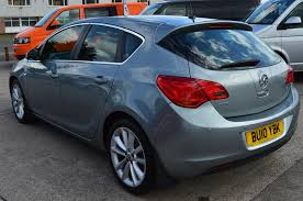 used 2010 vauxhall astra se half leather full service history for