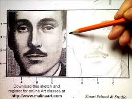 sergey malina art class learn to sketch a face youtube