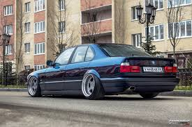 bmw stanced stanced bmw 525i e34 cartuning best car tuning photos from all