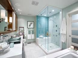 Fiberglass Wainscoting 3 Glass Frameless Door As Shower Room Design White Master Bathroom