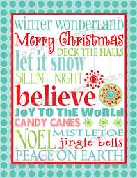 christmas printables u2013 happy holidays