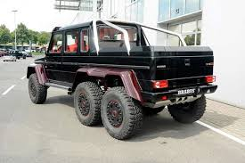 six wheel mercedes suv brabus mercedes g63 amg 6x6 official pictures and specs