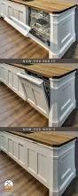 kitchen remodel drawer dishwasher under sink craftsman style
