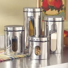 kitchen canister sets stainless steel 12 best stainless steel canister set images on