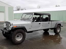 jeep scrambler 4 door custom jeep crew cab short bed pickup cj 1 of 1 fully custom 4