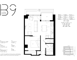 1 Bedroom Condo Floor Plans by Floor Plans Nordelec Condos