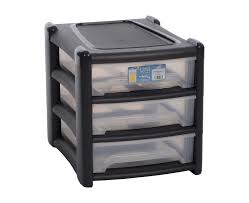 3 Drawer Desk Organizer by Shallow 3 Drawer Unit Plastic Boxes Storage Boxes Office