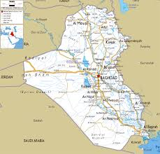 Map Of Al Maps Of Iraq Detailed Map Of Iraq In English Tourist Map Of