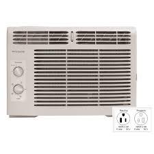 8000 Btu Window Air Conditioner Reviews Shop Frigidaire 5000 Btu 150 Sq Ft 115 Volt Window Air Conditioner