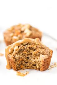 healthy carrot cake blender muffins recipe dairy veggies and