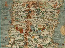 Ancient Italy Map Stock Photos by Olaus Magnus U0027 Map Of Scandinavia 1539 Section E Norway And