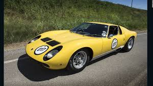 lamborghini miura lamborghini miura celebrating the 50th anniversary of the world u0027s