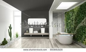 White And Gray Bathroom by Penthouse Stock Images Royalty Free Images U0026 Vectors Shutterstock