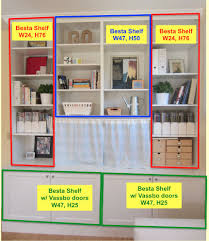 Bookcase 12 Inches Wide Ikea Hack 2 Besta Built In Family Room Tv Bookshelf U2013 Shirley