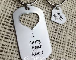 his and hers dog tags matching necklace dog tag and heart necklaces partner