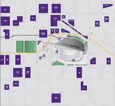 map us bank stadium us bank stadium parking your guide to vikings parking