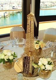 eiffel tower centerpieces ideas stunning gold eiffel tower centerpiece idea it s all about