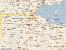 toledo ohio map toledo ohio united states