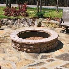 Stone Fire Pit Kits by Fossill Stone Fire Pit Kit Products Pinterest Stone Fire Pit