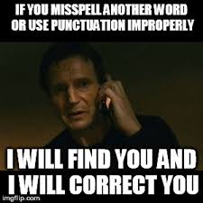 Punctuation Meme - 8 of the best liam neeson memes the irish sun