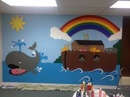 wall mural for sunday school my crafts pinterest sunday wall mural for sunday school