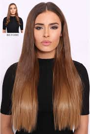 in hair extensions thick wavy ombre hair extensions lullabellz