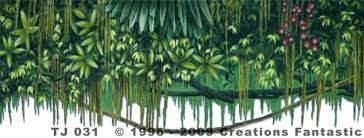 Jungle Backdrop Tj 031 Tropical Jungle Cut Header 1