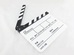 new clapperboard clapper board both in chinese and english tv film