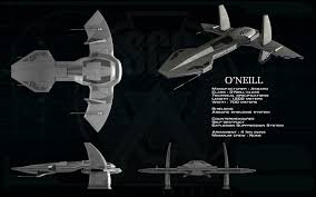 o u0027neill class asgard mothership ortho by unusualsuspex star
