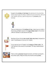 sikh festivals vaisakhi by cassius82 teaching resources tes