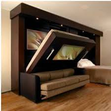 Wall Bed Sofa Systems No Wasted Space With A Plain Wall Bed By Night Sofa By Day