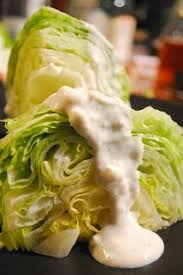 homemade low fat low calorie blue cheese dressing made with greek