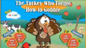 thanksgiving gobble children u0027s books the turkey who forgot how to gobble english