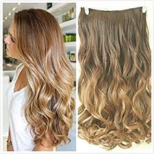 one clip in hair extensions 3 4 clip in hair extensions ombre one 2 tones wavy
