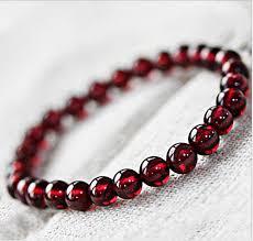 garnet gemstone bracelet images Wholesale natural aaa garnet stone bracelet buy garnet stone jpg