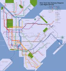 New York Mta Subway Map by File Nyc Subway Late Night Map Svg Wikimedia Commons