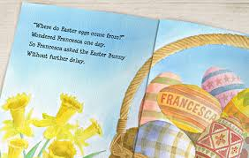 the story of the easter bunny personalized easter bunny story book simply personalized