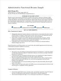 resume template administrative w experienced resumes exles of resumes for medical assistant
