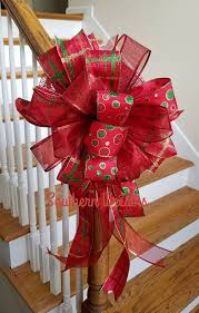 big christmas bows 122 best beautiful bows tree toppers images on