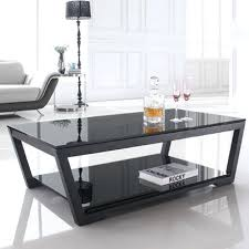 Coffee Tables Black Glass Modern Black Glass Coffee Table Modern Black Coffee Tables Uk
