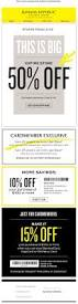 91 best email sales images on pinterest email design storage banana republic factory coupon banana republic factory promo code from the coupons app everything is off more today at banana republic factory stores